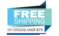 Free Shipping if you spend at least $75